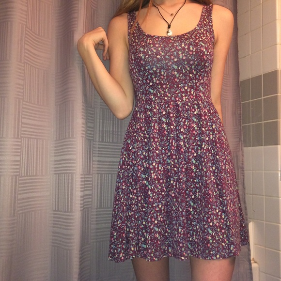 American Eagle Outfitters Dresses   Skirts - American Eagle floral skater  dress e783e33a9